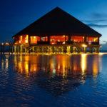 Das Asian Wok Restaurant auf der Insel Meeru (Malediven)