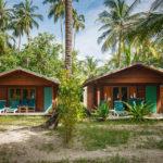 Die günstigsten Zimmer befinden sich im Inneren der Insel Meeru (Malediven)