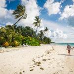 Die Insel Meeru (Malediven) bietet das ideale Umfeld für romantische Spaziergänge