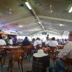 Der Wartebereich auf dem Flughafen Malé
