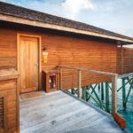Zugang zur Jacuzzi Water Villa