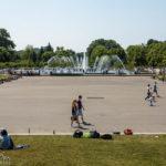 Springbrunnen im Gorki-Park