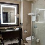 Badezimmer im Hotel Hilton Moscow Leningradskaya