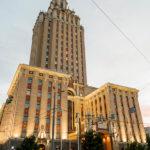 Außenansicht des Hotel Hilton Moscow Leningradskaya