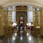 Lobby im Hotel Hilton Moscow Leningradskaya
