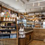 Die französische Bäckerei Le Pain Quotidien in Moskau