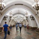 Metro-Station Arbatskaja in Moskau