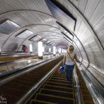 Metro-Station Chistye Prudy in Moskau