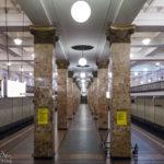 Metro-Station Komsomolskaja in Moskau
