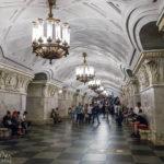 Metro-Station Prospekt Mira in Moskau