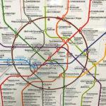 Netzplan der Moskauer Metro