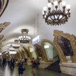 Metro-Station Kievskaya in Moskau