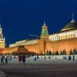 Der Kreml und das Lenin-Mausoleum auf dem Roten Platz