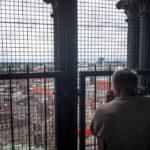 Die Aussicht vom Dom St. Petri ist leider durch ein enges Gitter eingeschränkt