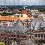 Blick vom Turm des Dom St. Petri auf Bremen