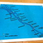 Route der Hafenrundfahrt in Bremen