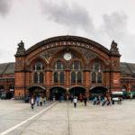 Außenansicht des Bremer Hauptbahnhofs