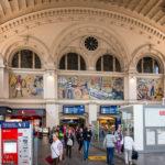Die Empfangshalle im Bremer Hauptbahnhof