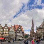 Panorama des Bremer Marktplatzes