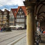 Historische Gebäude auf dem Bremer Marktplatz