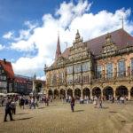 Das Bremer Rathaus auf dem Marktplatz