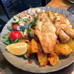 Bremer Pannfisch im Restaurant Kleiner Olymp
