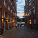 Zugang zur Schlachte Weserpromenade in Bremen