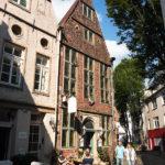 Historische Häuser im Bremer Schnoorviertel