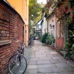 Enge Gassen im Bremer Schnoorviertel