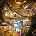 Innenansicht des Wissenschaftsmuseum Universum
