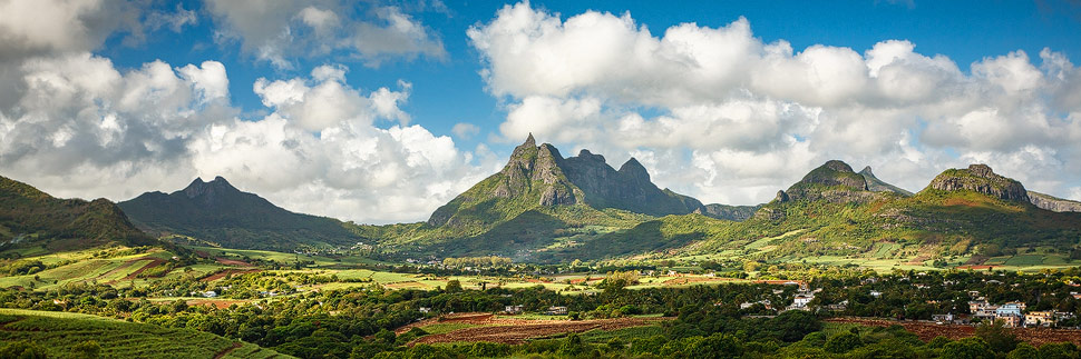 Der Berg Pieter Both auf Mauritius