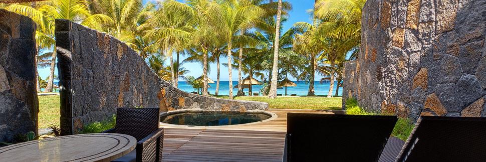Beachfront Suite im Hotel Beachcomber Trou aux biches auf Mauritius