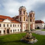 Stiftskirche im Stift Göttweig in der Wachau