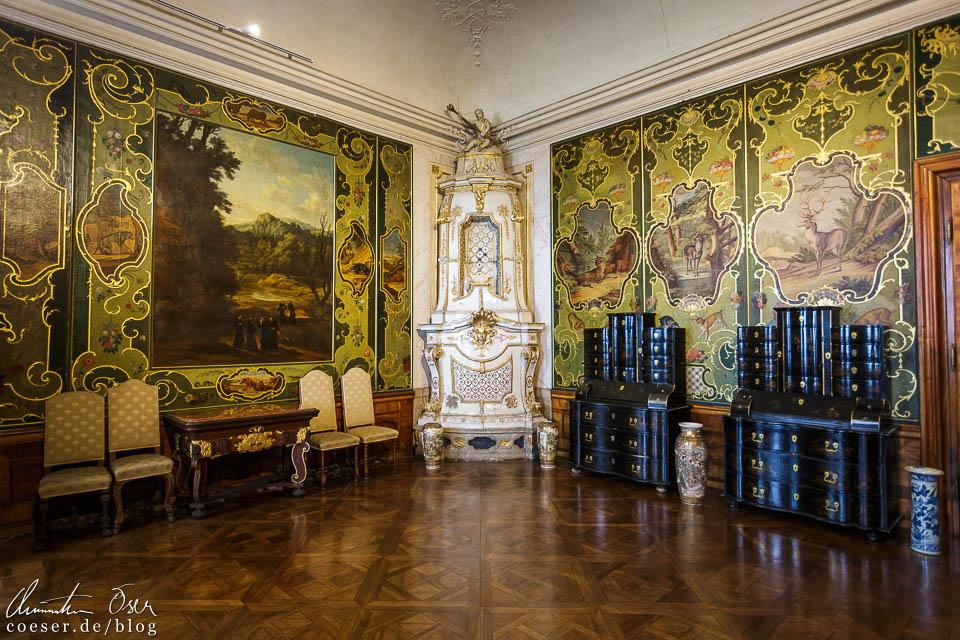 Das Jagdzimmer im Kaisertrakt des Stift Göttweig