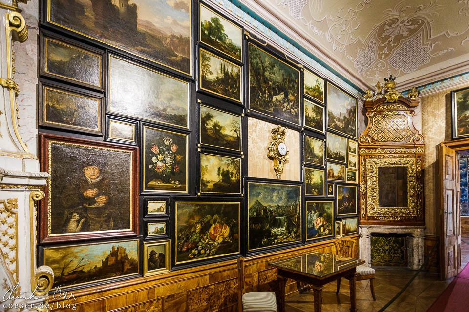 Die Gemäldegalerie im Kaisertrakt des Stift Göttweig