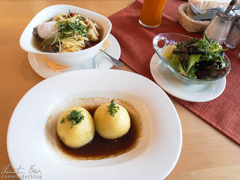 Essen im Stiftsrestaurant Göttweig