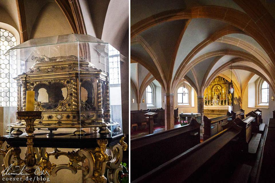 Krypta in der Stiftskirche im Stift Göttweig