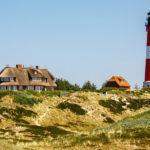 Leuchtturm Hörnum auf der Insel Sylt