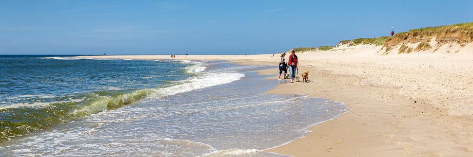 Strand und Meer auf Sylt