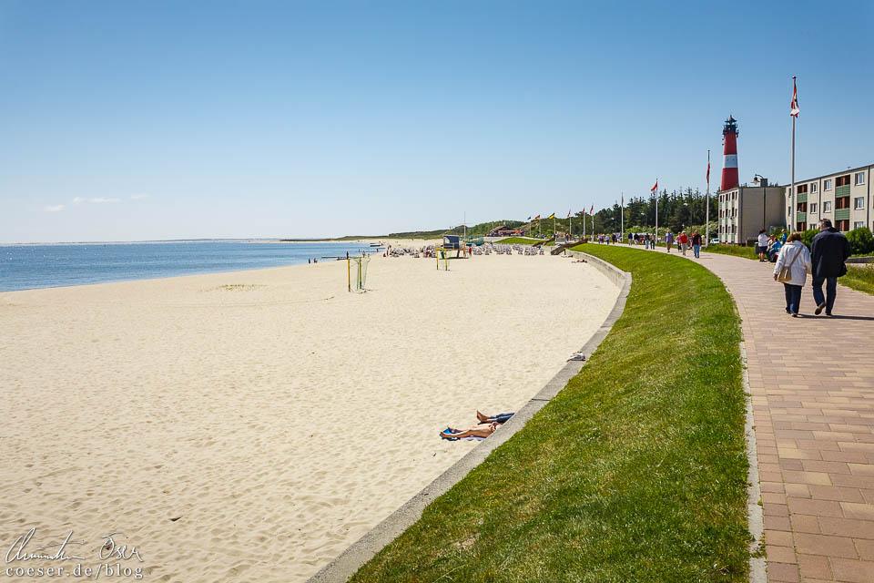 Strandpromenade in Hörnum auf Sylt