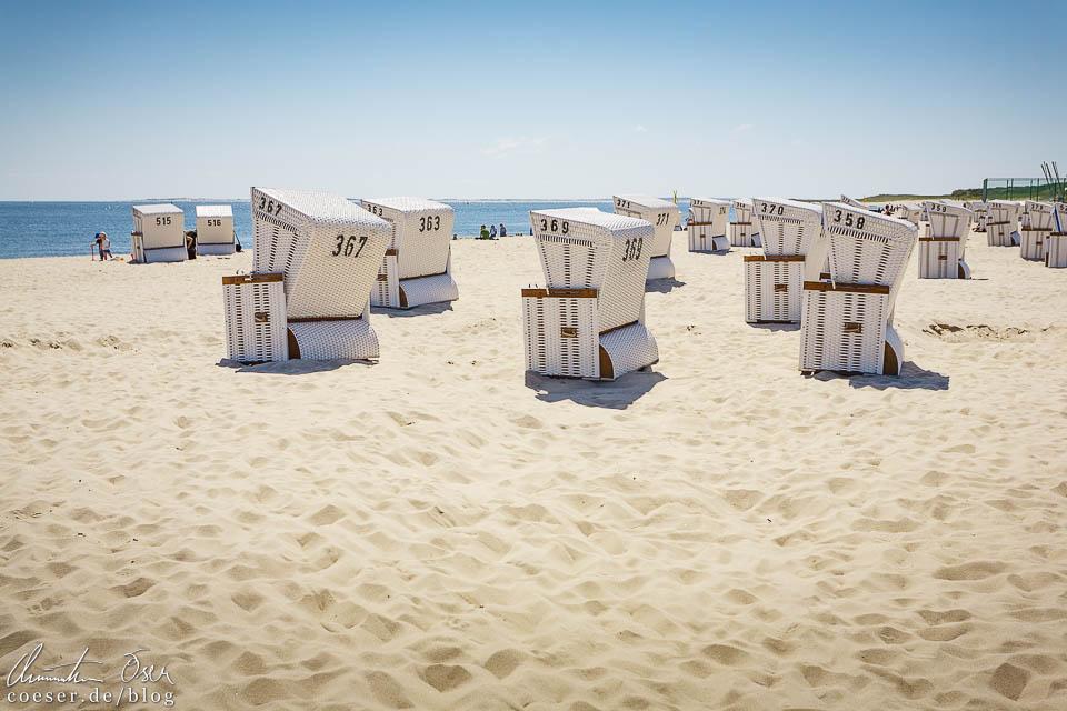 Strandkörbe in Hörnum auf Sylt