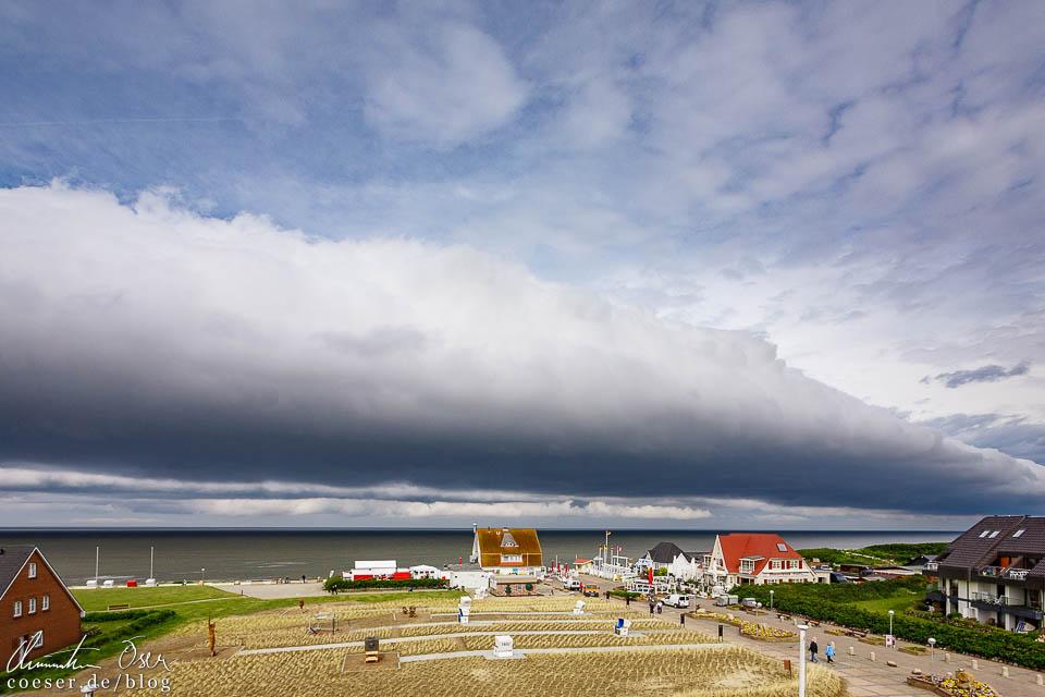 Böenwalze (Roll Cloud) auf Sylt
