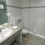 Badezimmer im Lindner Strand Hotel Windrose auf Sylt