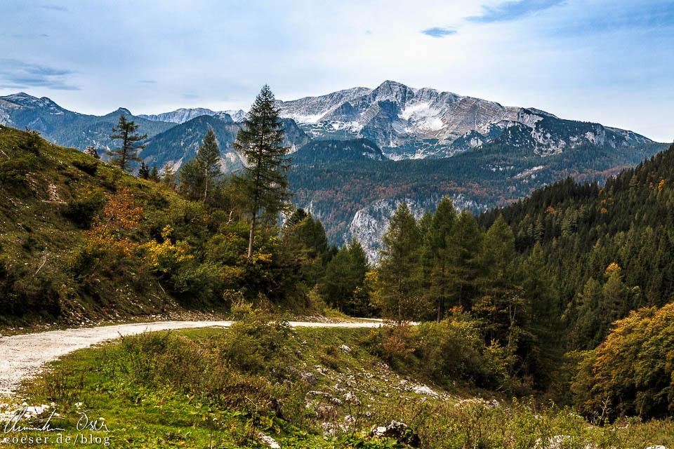 Wanderweg von der Dr.-Vogelgesang-Klamm über die Bosruckhütte zum Rohrauerhaus