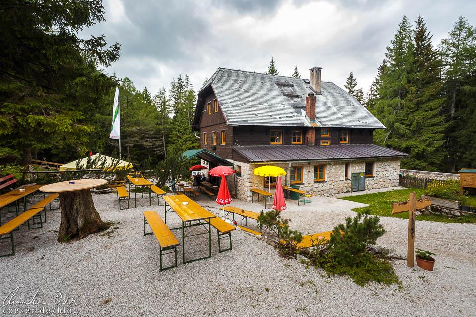 Rohrauerhaus am Ende der Dr.-Vogelgesang-Klamm