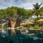 Kleiner Pool im Hotel Trou aux Biches Beachcomber