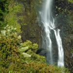 Detailaufnahme des Chamarel-Wasserfalls