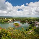 Blick auf den Grand Bassin auf Mauritius