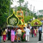 Hinduistische Prozession auf Mauritius