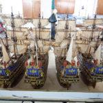 Schiffmodelle in der Fabrik Historic Marine auf Mauritius